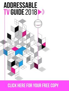 Addressable TV Guide 2018